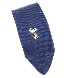 Peanuts Snoopy Joe Cool Collegiate Knit Necktie
